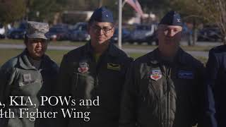 Seymour Johnson Air Force Base & Goldsboro, NC Veterans Day (2017)