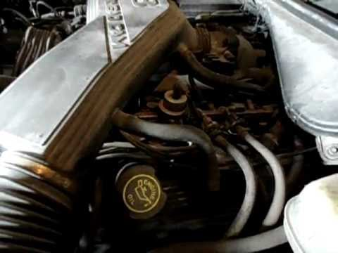 b098 1998 lincoln town car 4 6l engine youtube