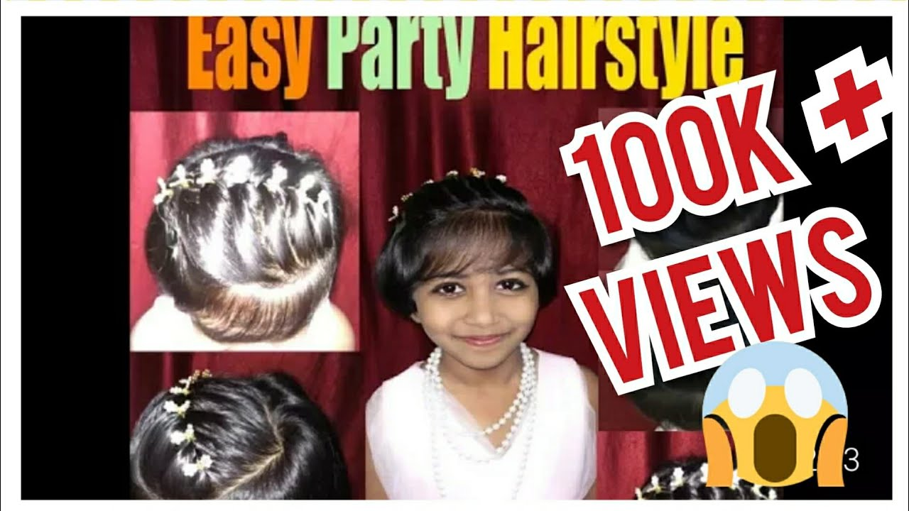 Hairstyles For Short Hair Kids Hairstyles For Girls Easy Little Girl Hairstyles Youtube