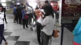 Аэропорт Манас (Случайное видео)