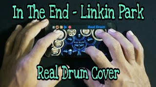 Gambar cover In The End - Linkin Part | Rock Version ( Real Drum Cover )