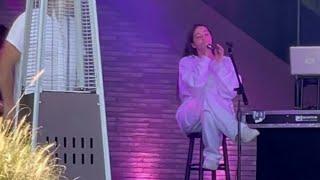 Faouzia -Minefields (Ft. John Legend) live performance at Ballon Salon💜🎈