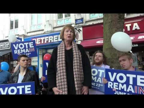 Britain Stronger In Europe: Harriet Harman Speech in Birmingham