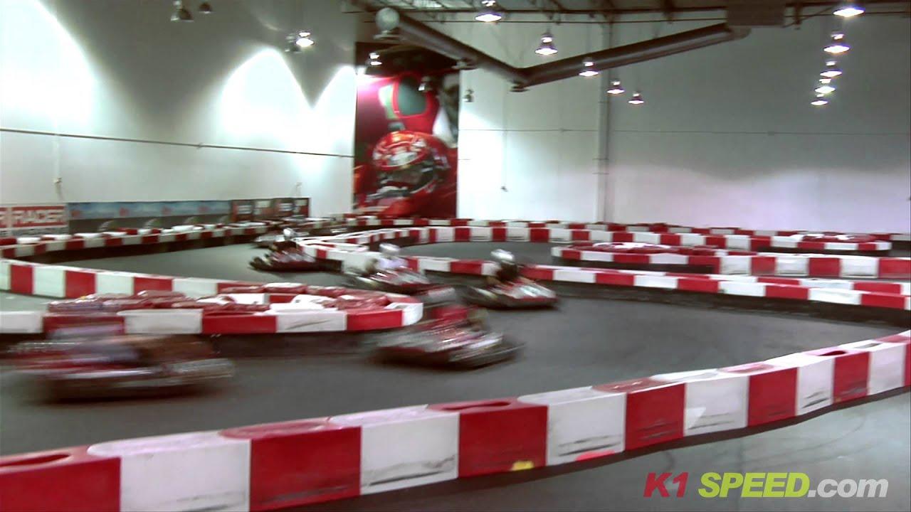 K1 Speed Electric Indoor Kart Racing Arrive and Drive