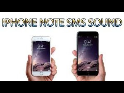iPhone Note SMS Ringtone