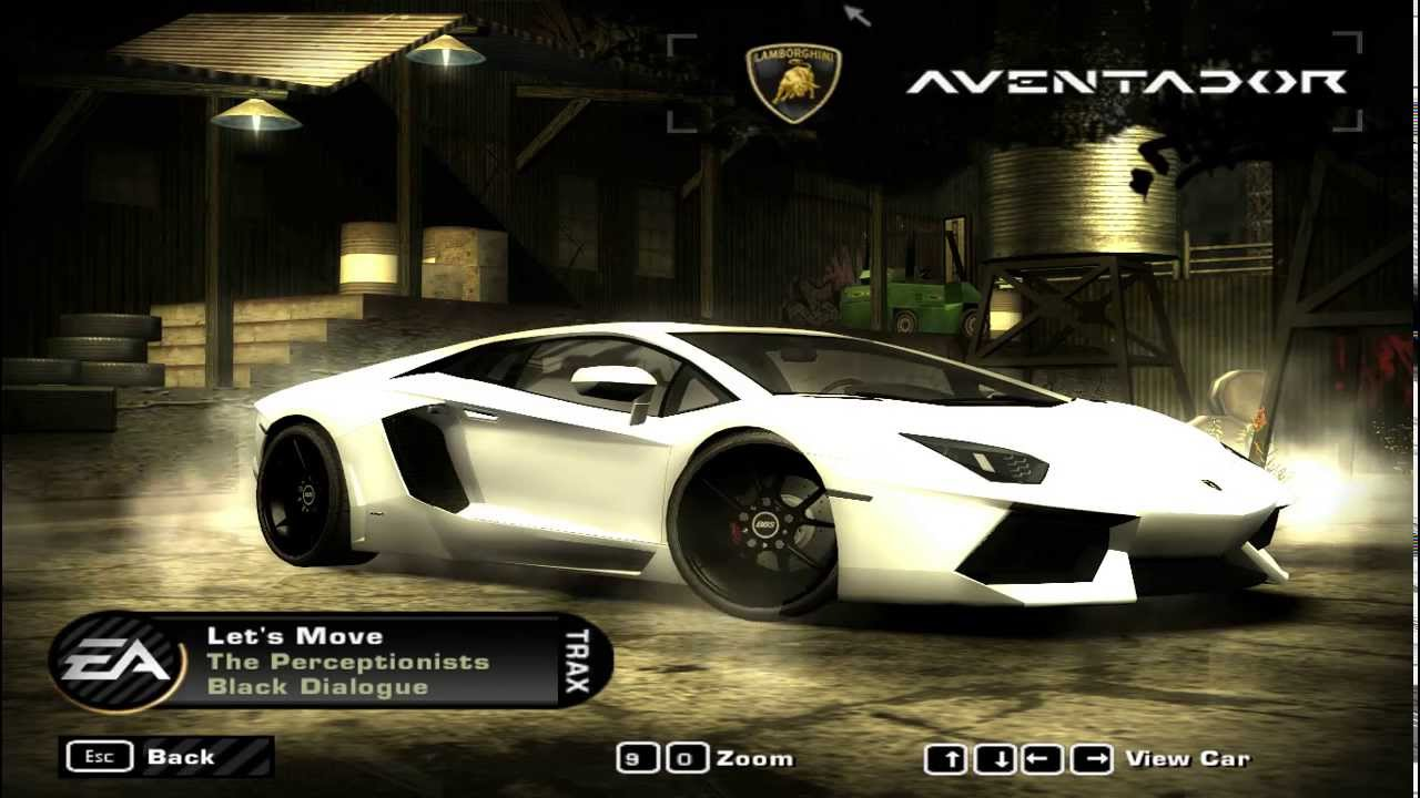 Need For Speed Most Wanted Car Mod Lamborghini Aventador Lp 700 4 Youtube