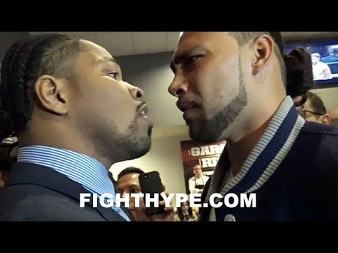 WOW! KEITH THURMAN & SHAWN PORTER ERUPT, GO AT IT IN HEATED CONFRONTATION; EPIC 10MINUTE CLASH