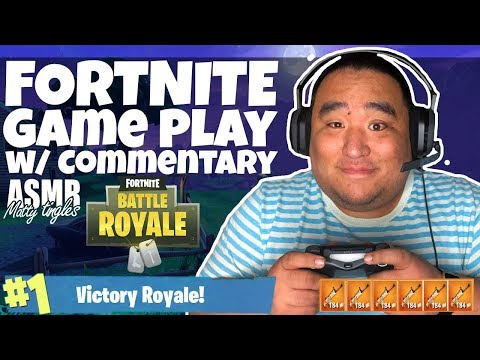[ASMR] FORTNITE Game Play (w/Commentary) | MattyTingles
