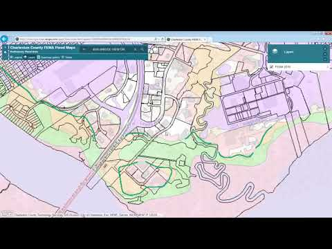 How To Access Charleston County Flood Maps
