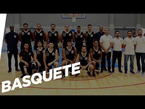 AO VIVO - Corinthians x Londrina - Liga Ouro de Basquete 2018