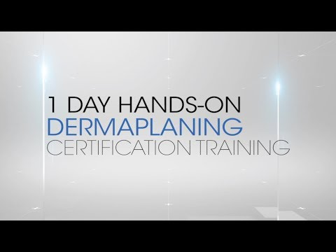 Institut' DERMed Dermaplaning Certification Course