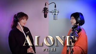 Alan walker & Ava max Alone - Pt II 2COLOR classic version , Flute & Violin