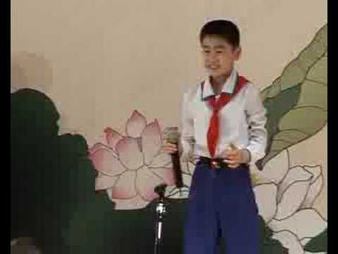 North Korean children engage in cultural diplomacy