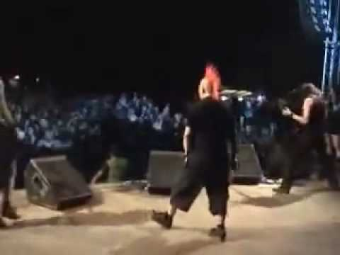 The Exploited feat Martin Svec on drums - You're Fucking Bastard (Antifest 2009)2.rv