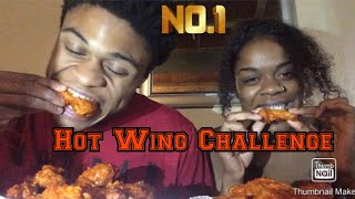 Extreme Hot Wing Challenge || Fresh From Bdub