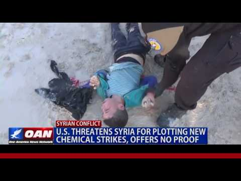 US Threatens Syria For Plotting New Chemical Strikes, Offers No Proof
