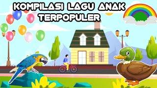 Kompilasi Lagu Anak Indonesia Terpopuler || Versi Karaoke Part 1