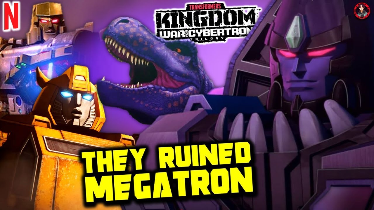 What The Hell Happened To Beast Wars Megatron In Netflix's Transformers WFC Kingdom?