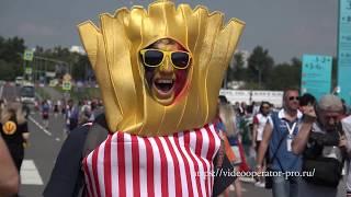 Бельгия  - Тунис стадион Спартак перед матчем футбол
