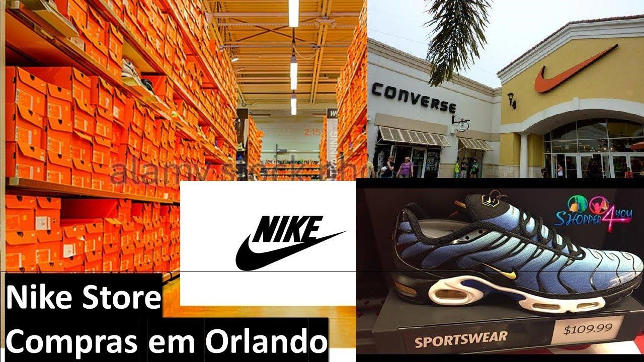 Nike Store - Compras em Orlando - YouTube d986c1528789b