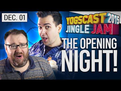 Yogscast Jingle Jam 2015 - Dec 1! w/ Turps, Lewis, Simon, Duncan and Sjin