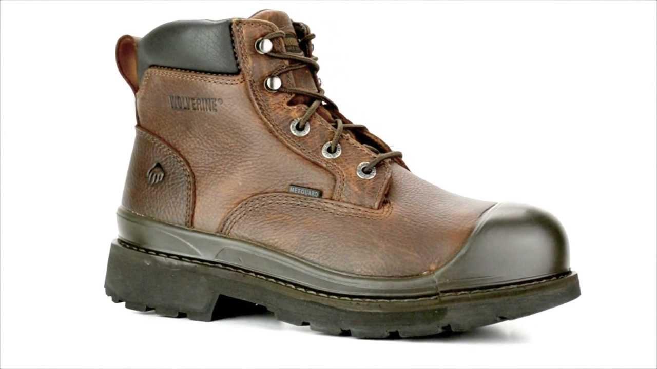 a49f4fa5df2 Men's Wolverine W04659 Steel Toe Metguard Work Boot @ Steel-Toe-Shoes.com