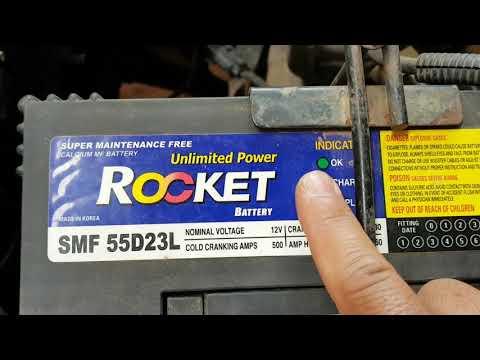 D.I.Y Kiểm tra bình ắc quy ô tô rất đơn giản - Inspection your car battery.