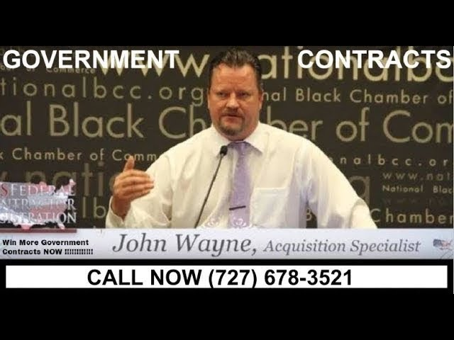 727 678 3521 Federal Contract Training For U S Federal Government Proposals Bids 8a Hubzone Gsa 8a Youtube