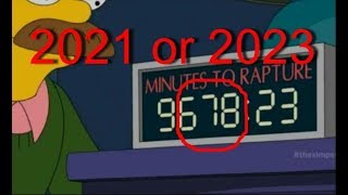 the Simpsons Predict RAPTURE 2018