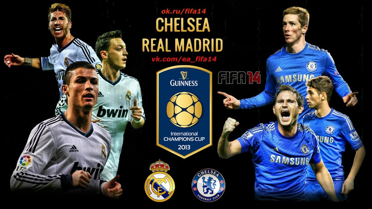 Chelsea vs Real Madrid 07/08/2013 International Champions ...