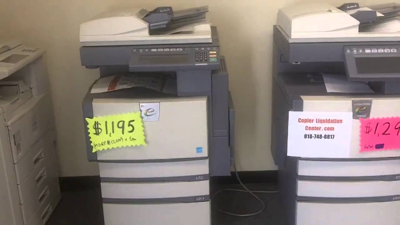 Network Copiers Scanners Review Canon Hp Ricoh Toshiba
