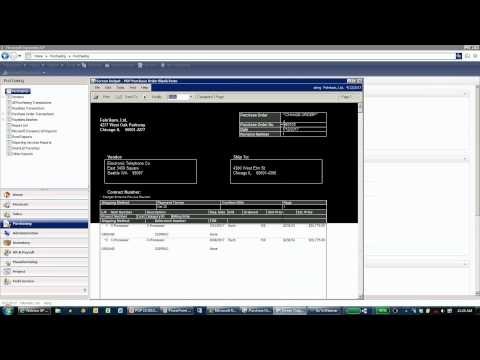 Purchase Order Processing in Microsoft Dynamics GP