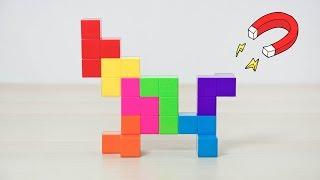 "¿¡EN SERIO!? EL ""TETRIS"" MAGNÉTICO 3D | Unboxing #347"