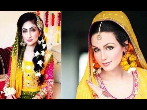 Hairstyles For Mehndi Party : Hairstyle mehndi youtube