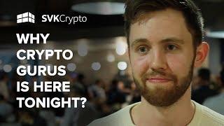 The Future of Blockchain - Interview with Tom Heavey aka Crypto Gurus at the SVK Crypto meetup