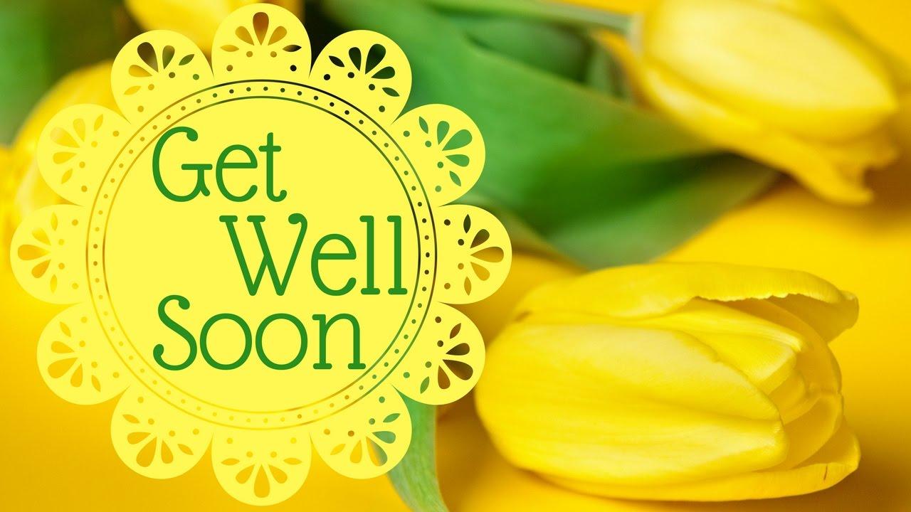 Get Well Soon Video Card