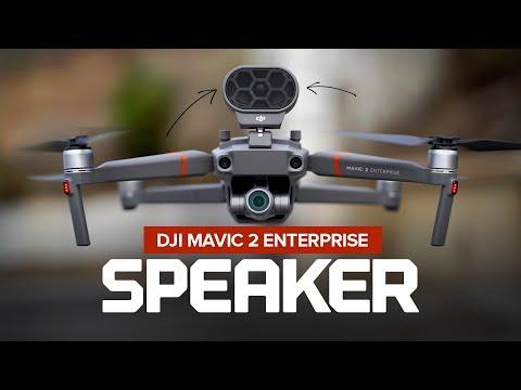 dji-mavic-2-enterprise-speaker---setup,-test-and-review