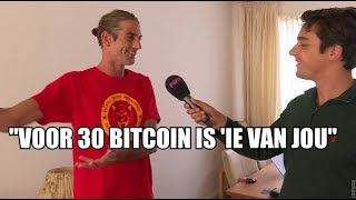 Dit rijtjeshuis kost je dertig bitcoins