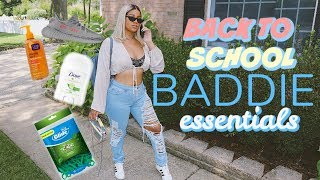 Back To School BADDIE ESSENTIALS! Girl Stuff for at Home or School