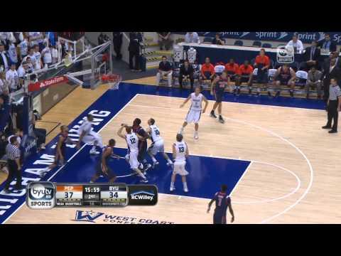 BYU Mens Basketball vs. Pepperdine Highlights
