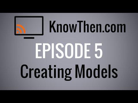 Creating Models in Koajs