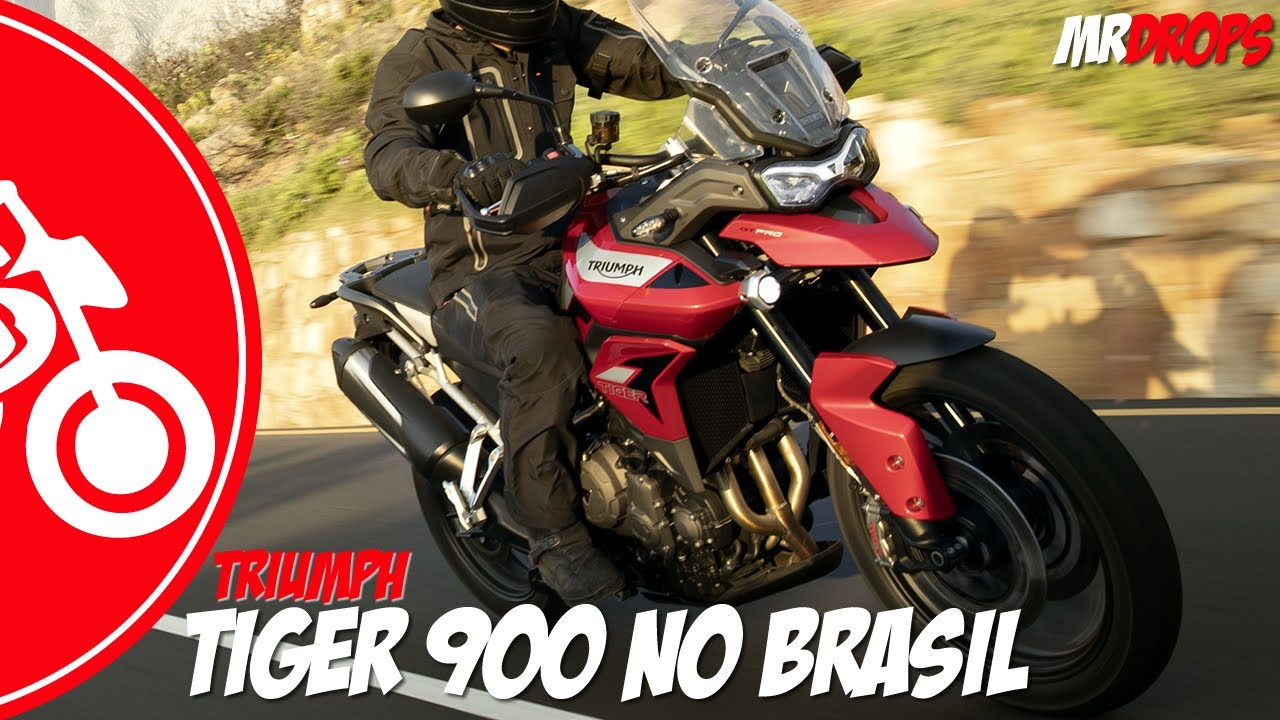 NOVA TIGER 900 NO BRASIL: TUDO QUE MUDOU (vídeo mais completo do Youtube) - MRDrops