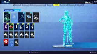 Trading a Stacked OG Codename Elf Account Fortnite Battle Royale