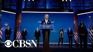 Joe Biden introduces his foreign policy and national security team