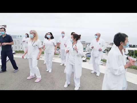 'Juntos en la lucha', el emotivo vídeo de los trabajadores del Hospital da Mariña