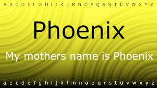 Here I will show you how to say 'Phoenix' with Zira.mp4