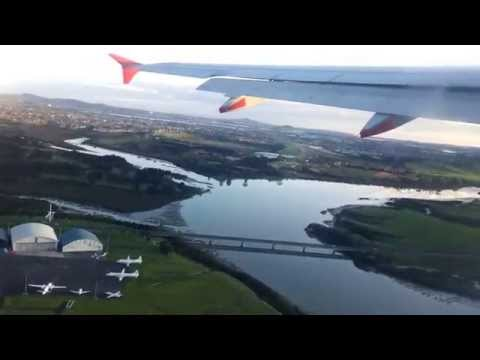 Auckland Airport takeoff- A320