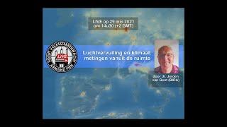 Luchtvervuiling en klimaat: metingen vanuit de ruimte