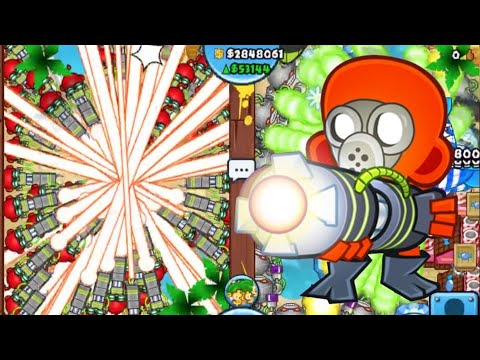 EPIC LATE GAME with Ray of Dooms BTD Battles