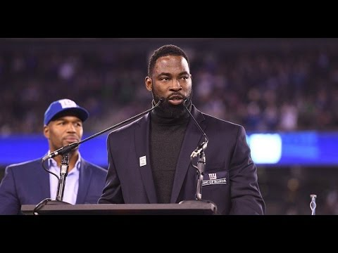 Giants Ring of Honor Speech: Justin Tuck